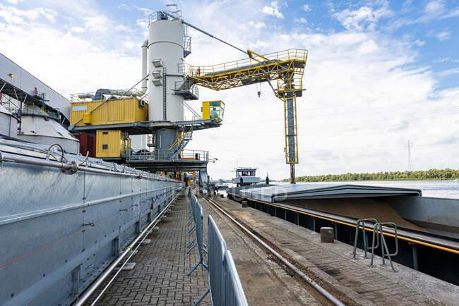 Amercentrale Docks, Geertruidenberg, Paesi Bassi — Foto stock