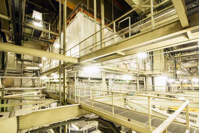 Amercentrale Power Plant interior, Geertruidenberg, Netherlands — Stock Photo