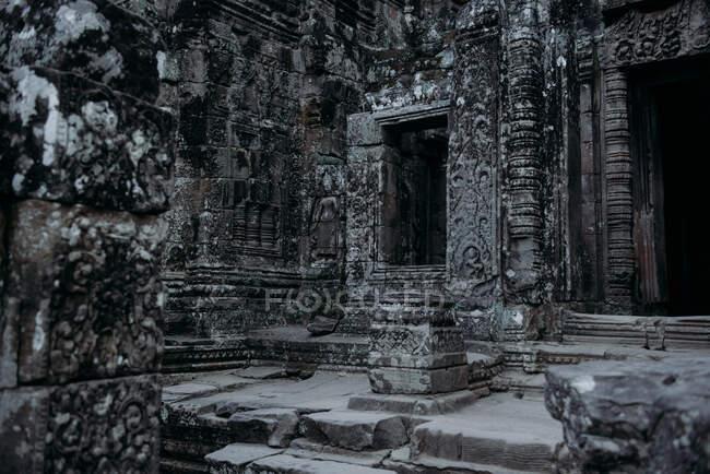 Rovine del tempio, Angkor Wat, Siem Reap, Cambogia — Foto stock