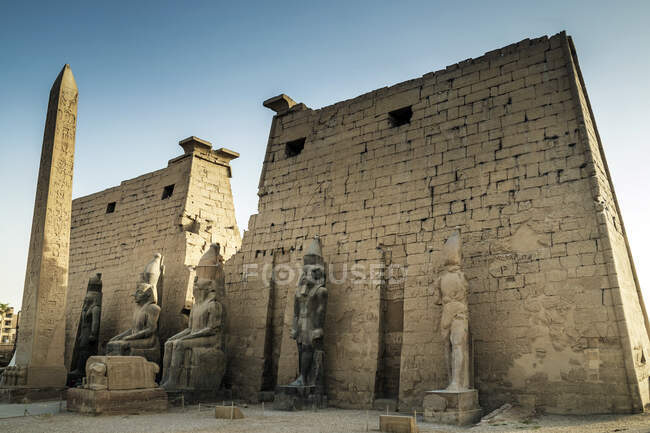 Temple of Luxor, Luxor, Egypt — стокове фото