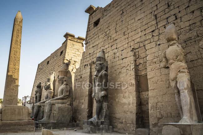 Temple of Luxor, Luxor, Egypt — Stock Photo