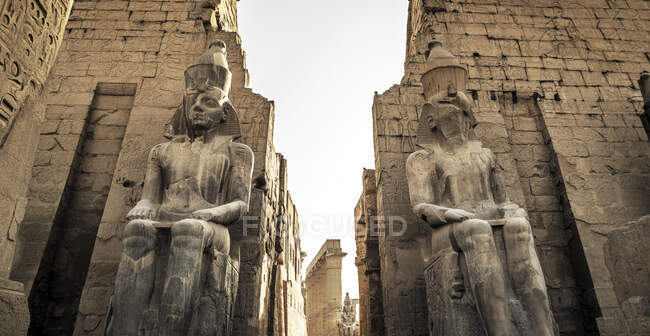 Tempio di Luxor, Luxor, Egitto — Foto stock