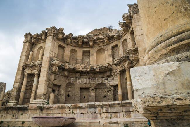 Nymphaeum temple, Jerash, Jordan — Stock Photo
