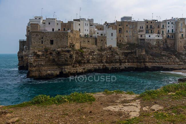Polignano a Mare, Bari, Puglia, Italia — Foto stock