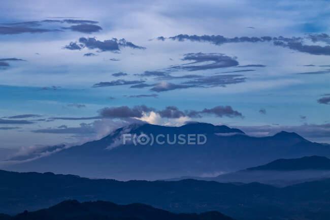 Monte Argapura, Majalengka, Cirebon, Giava occidentale, Indonesia — Foto stock