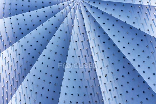 Крупный план абстрактной формы вентилятора — стоковое фото